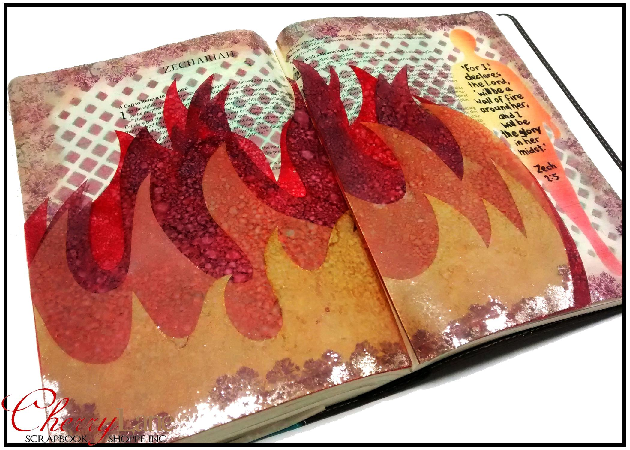 2019-05 May PT 19 Mixed Media Bible Art Journaling sneak peek