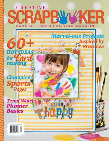 Creative Scrapbooker Summer 2019 Front Cover