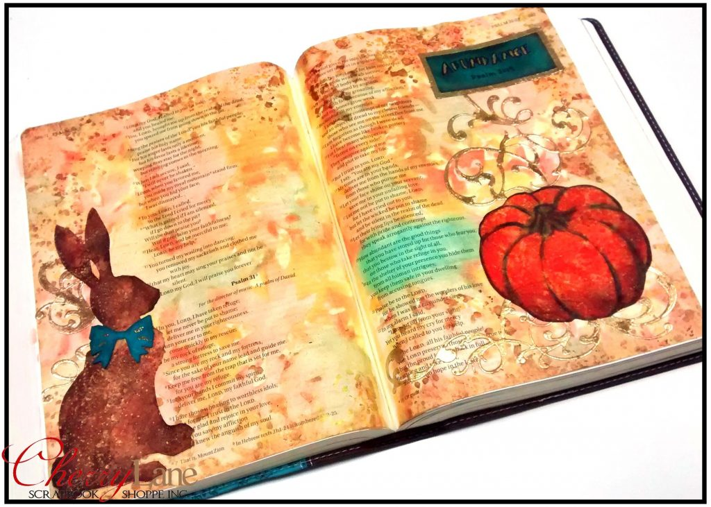 2019-09 September PT 23 Mixed Media Bible Art Journaling sneak peek
