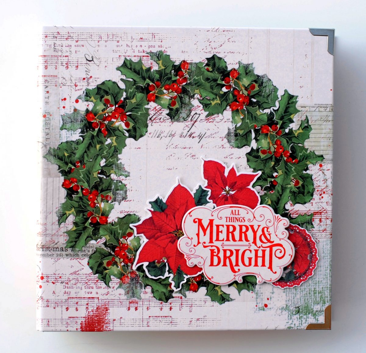 Country Christmas Binder Album