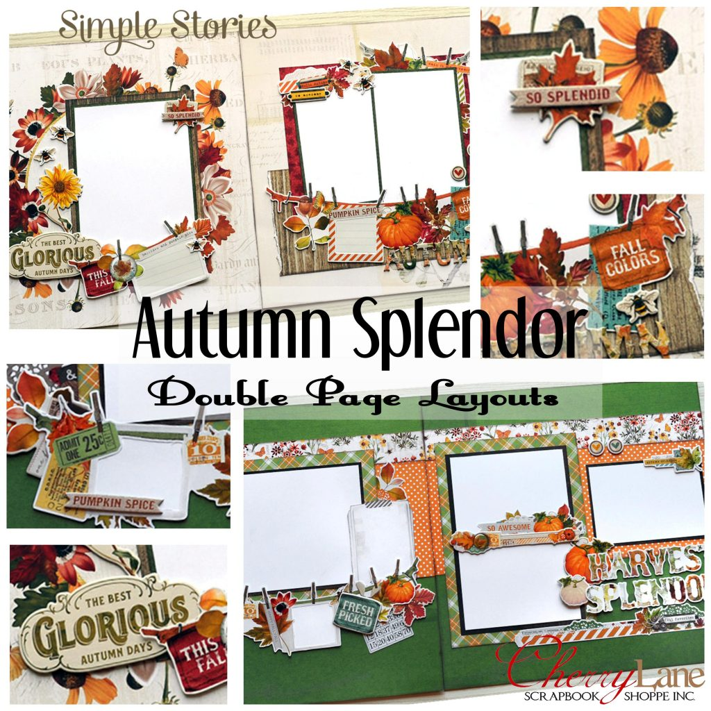 Autumn Splendor layouts square