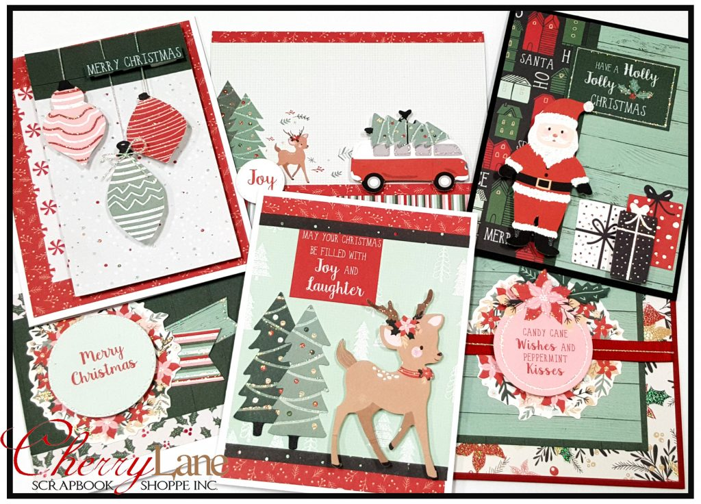 Peppermint Kisses Cards