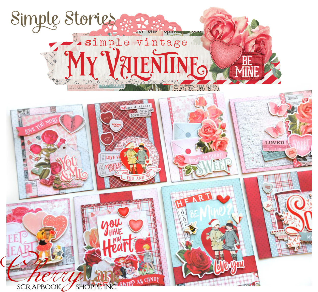 SSI Simple Vintage Valentine Cards