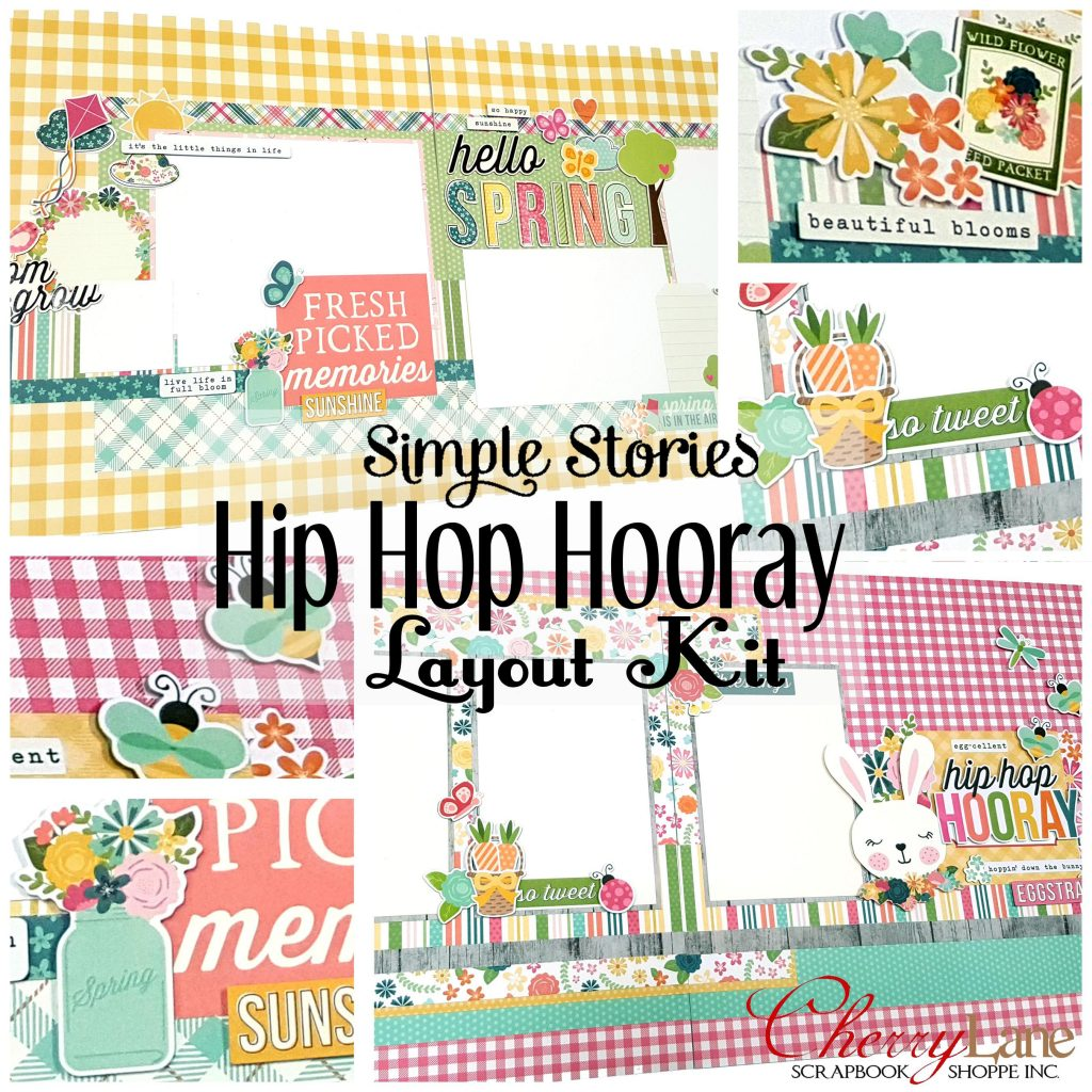 Hip Hop Hooray layouts sneak peek