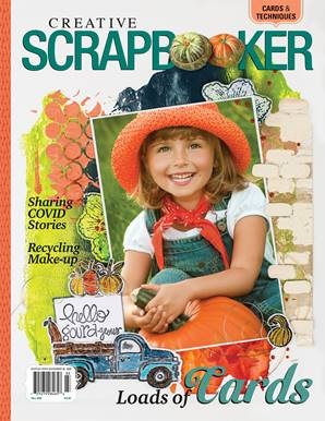 Creative Scrapbooker Fall 2020 Front Cover