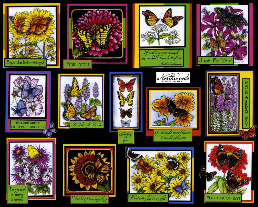 Northwoods Butterflies Galore Board