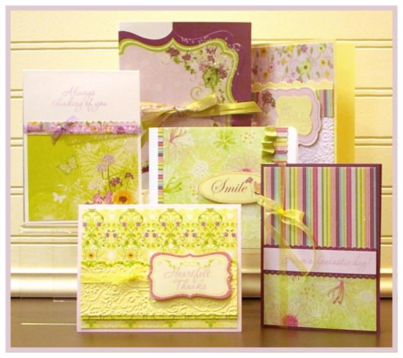 A Walk in the Garden Cards & Box Set