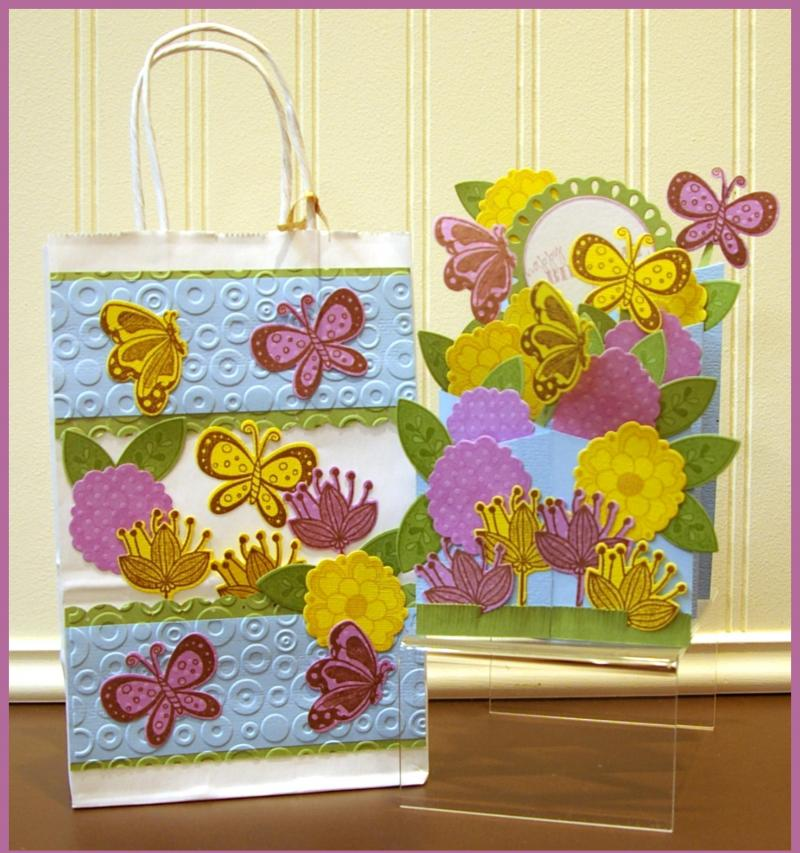 Accordian Card & Gift Bag