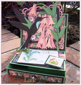 Botanical Tea Easel Box