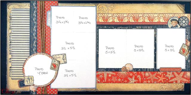 By the Sea May Layout # 1
