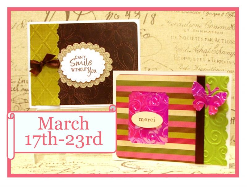 Card Buffet March 17-23