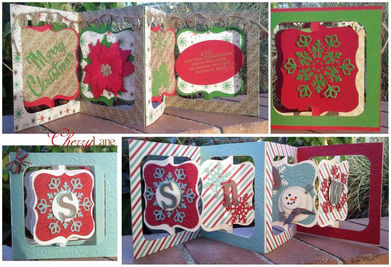 Christmas Accordian Cards