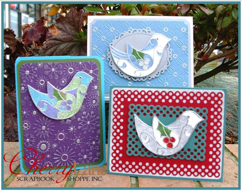 Delightful Doves Glitter Ritz & Peel Off's