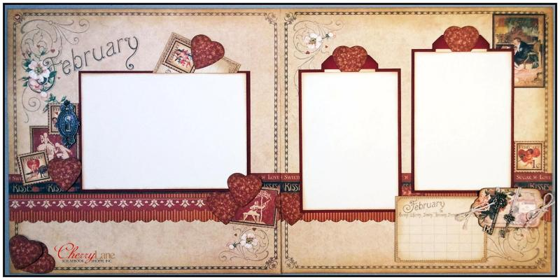 February Layout Cherry Lane
