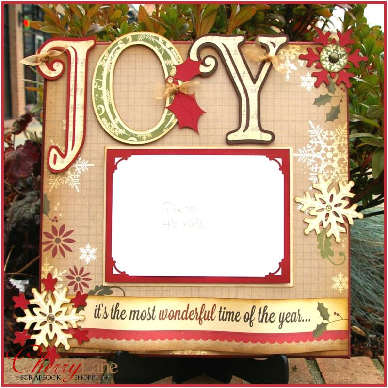 Joy Christmas Canvas