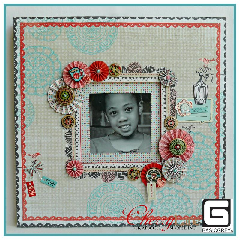 BG KOTM - August - Paper Cottage 12x12 Frame
