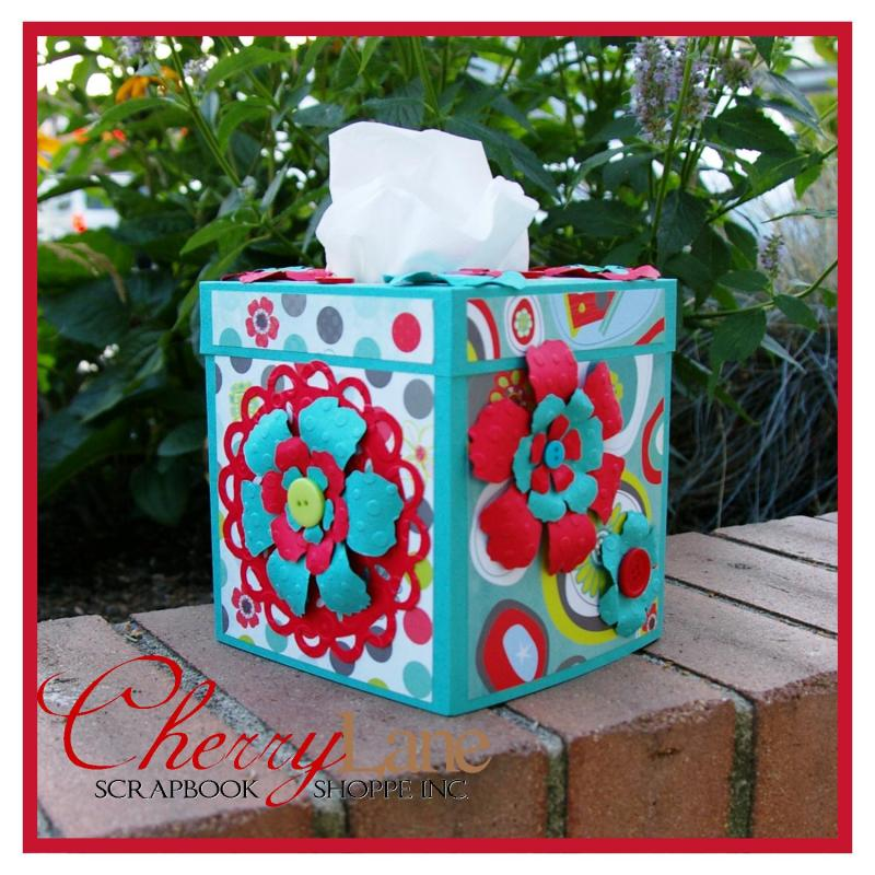 Kids - August 24 - Tissue Box Cover