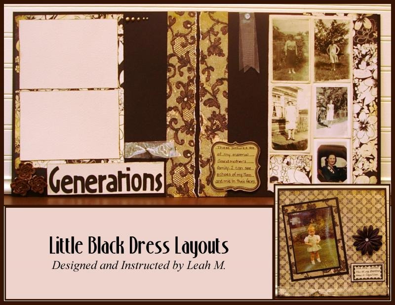 Little Black Dress Layouts