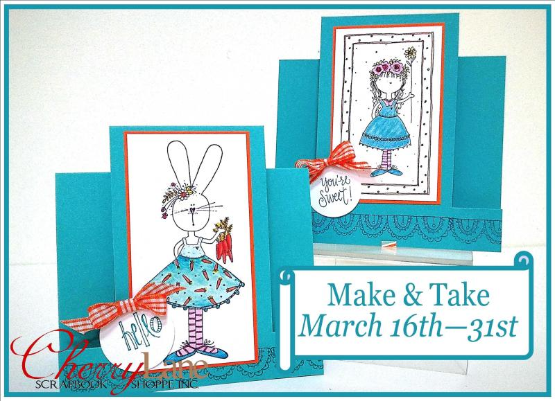 Make & Take March 16-31, 2016