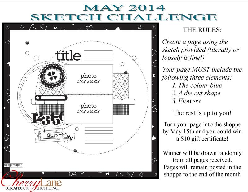 May 2014 Sketch Challenge