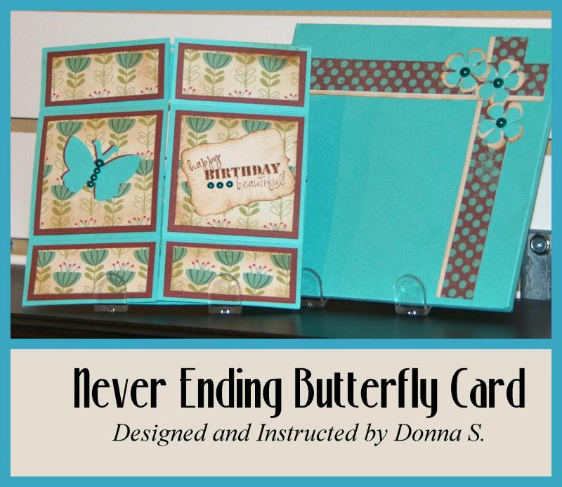 Never Endng Butterfly Card
