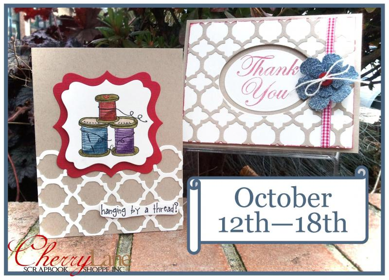 Sizzix Moroccan Card Front die, Spellbinders, Unity Stamp Co