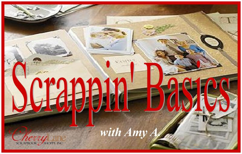 Scrapbooking Basics Beginners Scrapbooking Class