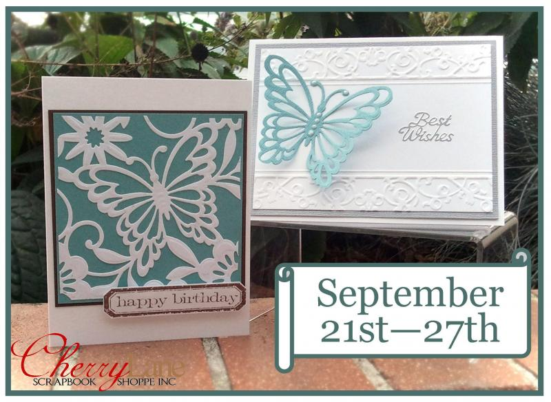 Spellbinders Die Butterfly Magic, Tim Holtz Simple Sayings, Peel Off Sticker