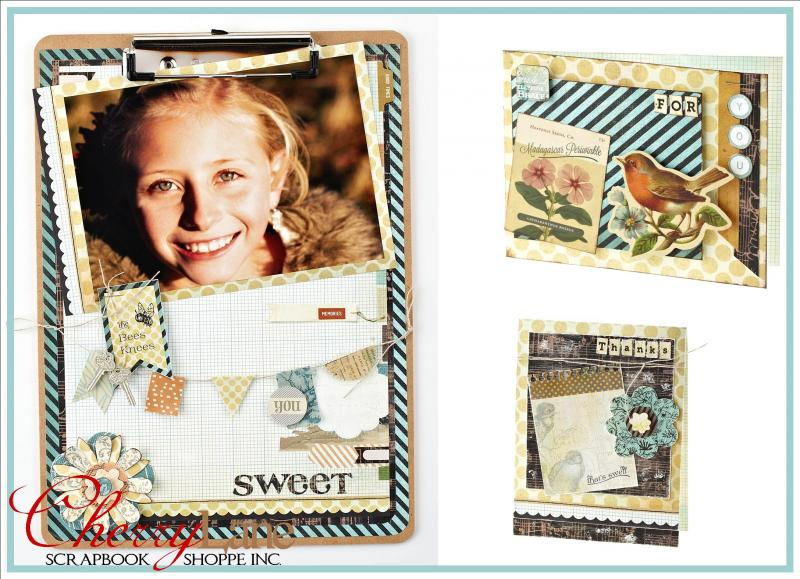 Serenade Clipboard Frame & Cards