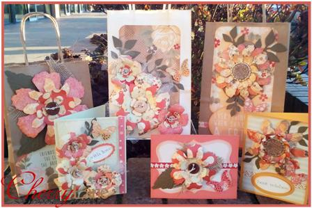 Sweet Pea Gift Bags & Cards